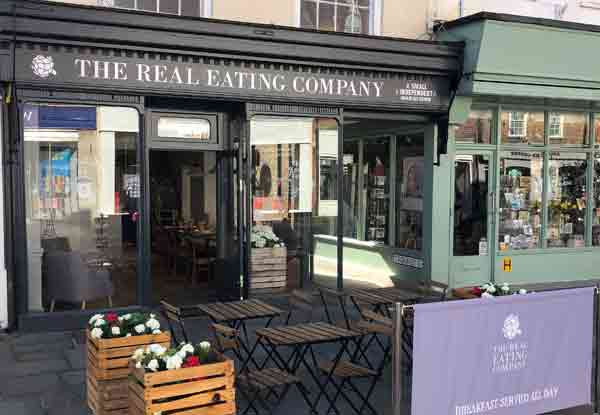 Chichester North Street Cafe Real Eating Company Exterior