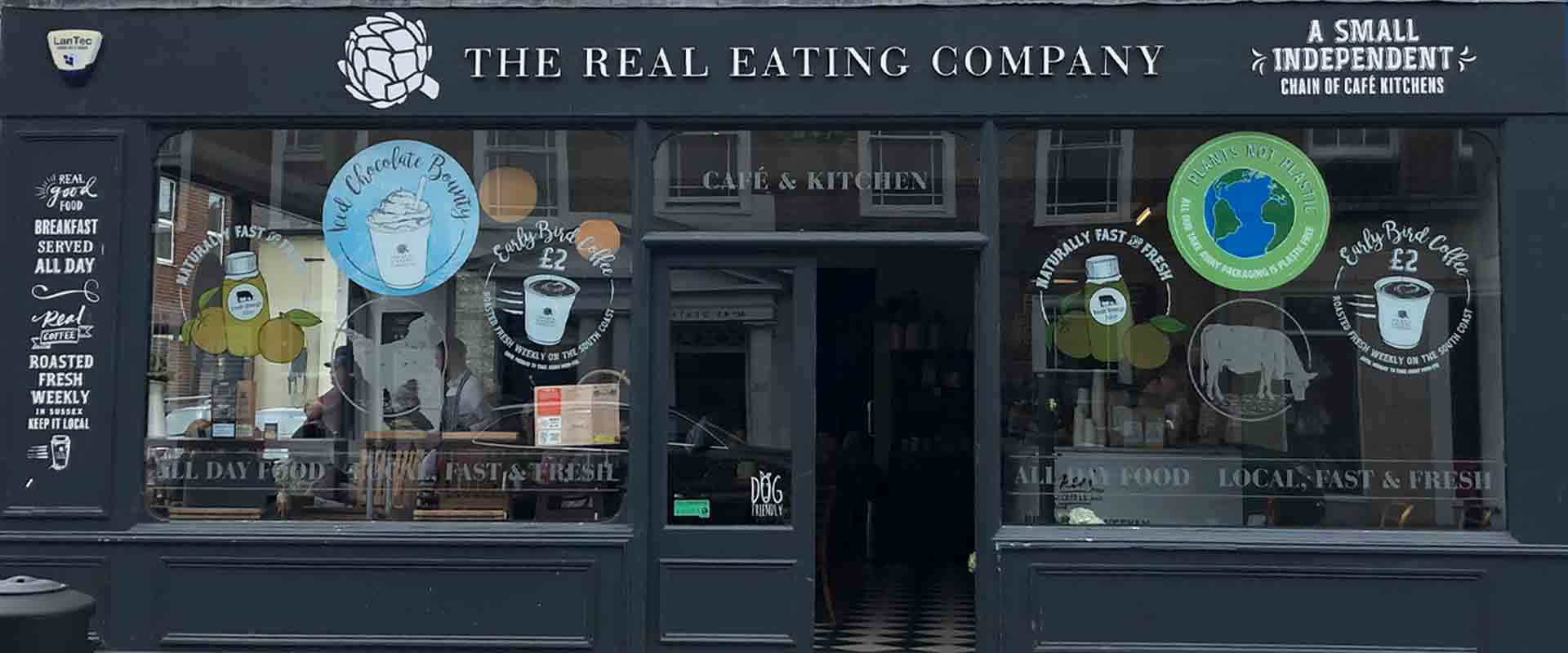 Chichester Cafe Coffee In Chichester The Real Eating Company